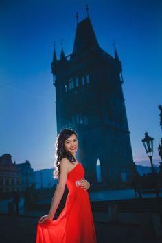 Suki & Steven's beautiful pre wedding portraits in Prague by American Photographer Kurt Vinion Wedding Portraits, Prague, Destination Wedding, Wedding Photography, Romantic, Formal Dresses, Couples, Hong Kong, Europe