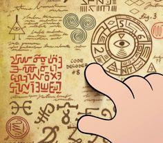 Symbols from Gravity Falls