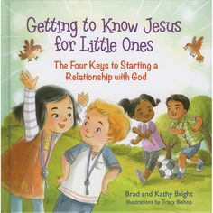 This delightful Catholic book for kids tells about how to find four keys to starting a relationship with God!