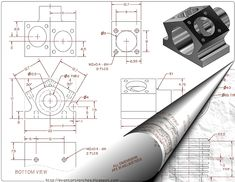 From the Trenches with Autodesk Inventor: Part Modeling Practice Drawings for Inventor
