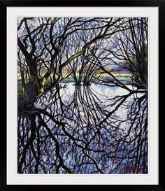 Pond Reflections, 2009 (oil on canvas)