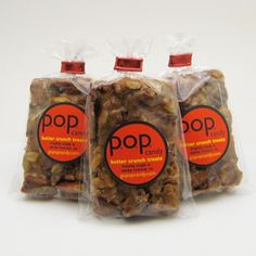 """Daily Candy included p.o.p. candy co. granola bars in their """"2012 Best Snacks"""" roundup."""