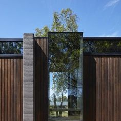 This moody Melbourne house extension by local studio Branch Studio Architects features dark rammed-charcoal walls, window nooks and an outdoor bathtub. Modern Architecture Design, Pavilion Architecture, Modern House Design, Interior Architecture, Computer Architecture, Chinese Architecture, Futuristic Architecture, Modern Houses, Interior Design