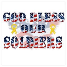 Soldiers Susan Bolen via Gail Weeks onto Our Military...Thanks Guys For All You Do!! Support Them, Love Them & Honor Them...They Go With Heart!!!