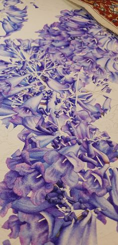 Beyond my hands, this jacaranda painting is set for a far larger journey which will continue to unfold in time from today, in many exciting ways. Textures And Tones, Botanical Illustration, No Time For Me, Tulips, Watercolour, Larger, Things To Come, Journey, Hands