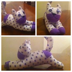 Sock Cat I made today 
