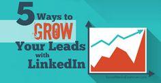 Grow linkedIn leads...