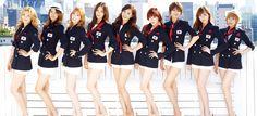 2012 소녀시대  올림픽 특집 단체복