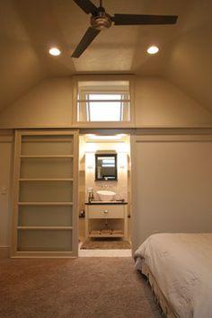 Attic Master Suite Design Ideas, Pictures, Remodel, and Decor