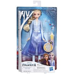 Buy Disney Frozen 2 Elsa Magical Swirling Adventure Fashion Doll at Argos. Thousands of products for same day delivery or fast store collection. Frozen Disney, Elsa Frozen, Frozen Movie, 2 Movie, Hans Christian, 10th Birthday, Birthday Gifts, Purple Outfits, Adventure Style