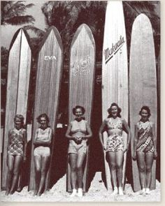 #girl #surf #vintage