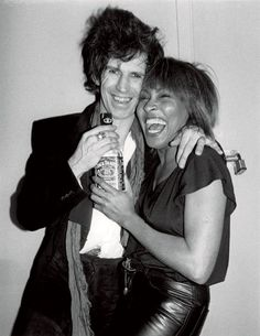 Keith Richards, Tina Turner e Jack Daniels