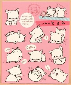 Toromi French Bulldog dog Post-it sticky notes book 3