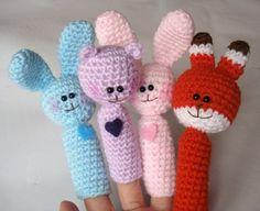 Amigurumi Finger Puppets