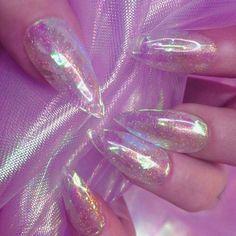 ♡ Nikki Lipstick, New Nail Trends, Nail Lacquer, Nail Polish, Jelly Nails, Unicorn Nails, Acrylic Nail Art, Nail Decorations, White Nails