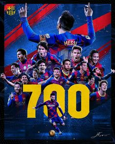 leomessi 700 Leo Messi First player to score against 34 different teams in champions Lea