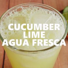 Authentic Mexican Recipes, Mexican Food Recipes, Mexican Desserts, Drinks Alcohol Recipes, Water Recipes, Kefir Recipes, Refreshing Drinks, Summer Drinks, Lime Drinks