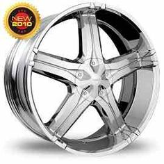 Pinnacle Cruz Chrome http://www.thewheelconnection.com/