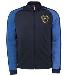2017 Cheap Training Jacket Boca Juniors Replica Black Uniform [AFC547]