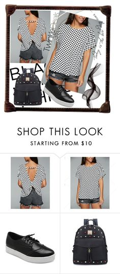 """""""TwinkleDeals FASHION !"""" by jasmine-monro ❤ liked on Polyvore featuring backpack, sneakers, Tshirt and twinkledeals"""