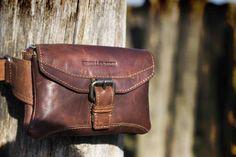 Spikes & Sparrow leather bag
