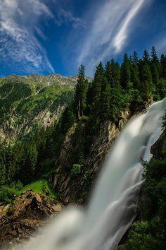 "ponderation: ""Krimml Waterfalls by Achim Thomae """