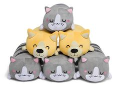 Pillow rolls to supplement your love for corgis and kittens. | 29 Absurdly Cute Gifts That No One Could Resist