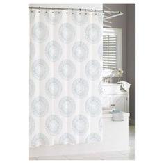 Starburst Shower Curtain Grey/Multi-Colored (74