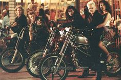 The Lost Boys. Going from left to right it's: Paul, Marco, Dwayne, Laddie (the little boy behind Dwayne), David, and Star.