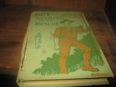 1912 boy scouts bookboy scouts to the by MuddyRiverIronWorks, $27.00