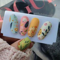 Spring Nails, Summer Nails, Cute Designs, Nail Art Designs, Nail Design, Nail Art Techniques, Nail Art Videos, Christmas Nail Art, Trendy Nails