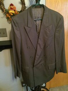 Double Breasted Andre Villard Suit Jacket by JustClickThreeTimes