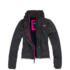 Hollister All-weather Jacket - Dark Grey All Weather Jackets, Winter Jackets, Outerwear Women, Outerwear Jackets, New Outfits, Cute Outfits, Hollister Clothes, Her Style, Motorcycle Jacket