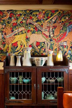 Arts And Crafts Furniture, Arts And Crafts House, Home Crafts, Art And Craft Design, Design Crafts, Design Art, Interior Design, Art Nouveau, Decoration