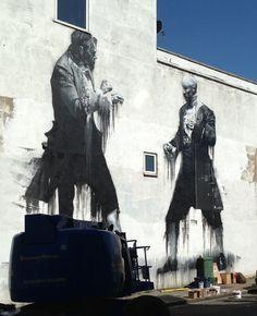 Conor Harrington Realistic Street Art in London