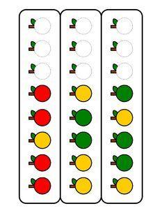 Fruit of the spirit goodness apple garland 46 ideas for 2019 Preschool Math, Preschool Worksheets, Kindergarten Math, Apple Garland, Fruit Juice Recipes, Math Patterns, Apple Unit, Apple Theme, Fruit Party
