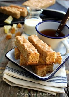 Pineapple Ginger Bars