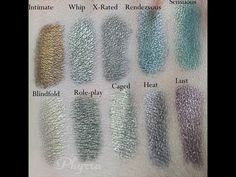 Meow Shades of Meow Vol. 2 Review & Swatches. Pin now, watch later! #crueltyfree #beauty #makeup #eyeshadow #duochrome #meowcosmetics  http://www.phyrra.net/2013/05/meow-shades-of-meow-vol-2-review-swatches.html