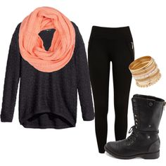 This fall and winter I'm going to be obsessed with these big sweaters! Minus the boots.. I would wear Uggs