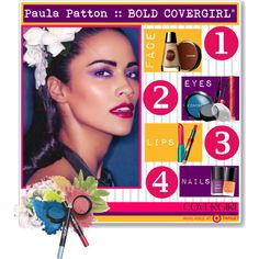 """""""Covergirl: Paula Patton Bold Look"""" by poeticprincess on Polyvore"""