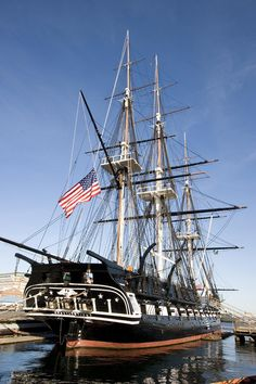 USS Constitution, Boston, Massachusetts Want to go on while we are there! Saw outside but didn't get to see inside! Boston Strong, In Boston, Old Sailing Ships, Uss Constitution, Boston Massachusetts, Armada, Navy Ships, Boat Plans, New England