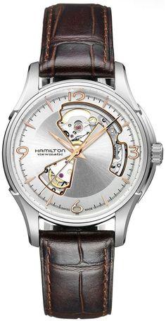 H32565555 - Authorized Hamilton watch dealer - Mens Hamilton Jazzmaster Open Heart, Hamilton watch, Hamilton watches