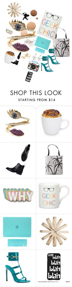 """""""Too Many Things to Do #BacktoSchool"""" by ms-jade-1 ❤ liked on Polyvore featuring Lumière, Delfina Delettrez, Monki, Big Bud Press, Gary Birks Design, Umbra, Disney and Gucci"""