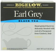 Bigelow Earl Grey Tea, 40-Count Boxes (Pack of 6) - http://teacoffeestore.com/bigelow-earl-grey-tea-40-count-boxes-pack-of-6/