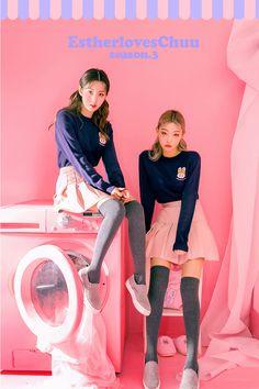 chuu_츄 - 츄(chuu)   Estherloveschuu ribbon knit   BEST