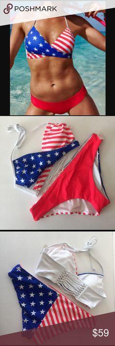 Nwt Victorias Secret PINK Hot Pink Crossover Strappy Mini Bikini Bottom XS S M L