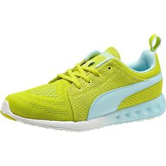 Puma Carson Runner EM Women's Running Shoes (£33) ❤ liked on Polyvore featuring shoes, athletic shoes, puma shoes, running shoes, puma footwear, puma athletic shoes and lightweight shoes