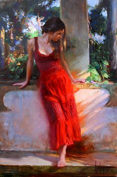 Vladimir Volegov, Figurative artist, Impressionist artist, Waterhouse Gallery Female Portrait, Portrait Art, Female Art, Portraits, Painting Gallery, Fine Art Gallery, Woman Painting, Figure Painting, Painting Art