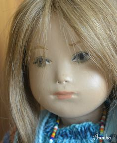 Annika A Hybrid Sasha Morgenthaler Studio Doll re-created by Artist Janet Myhill Dabbs