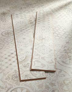 Valencia Tile - Retro Light Laminate Flooring